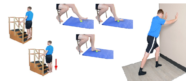 Achilles tendonitis, Brighton physio explains treatment at home