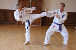 Karate recommended for older adults by Brighton chiropractor