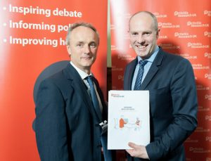 Matthew meets Minister Justin Tomlinson