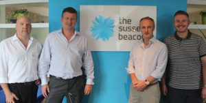 brighton-chiropractors-matthew-bennett-and-richard-hollis-visit-sussex-beacon