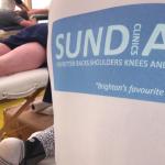 Sundial at Brighton Half Marathon fundraiser