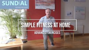 Advanced fitness exercises to do at home by Brighton chiropractor, Matthew Bennett
