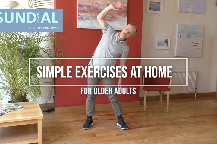 Brighton chiropractor shows best exercises for older adults to do at home