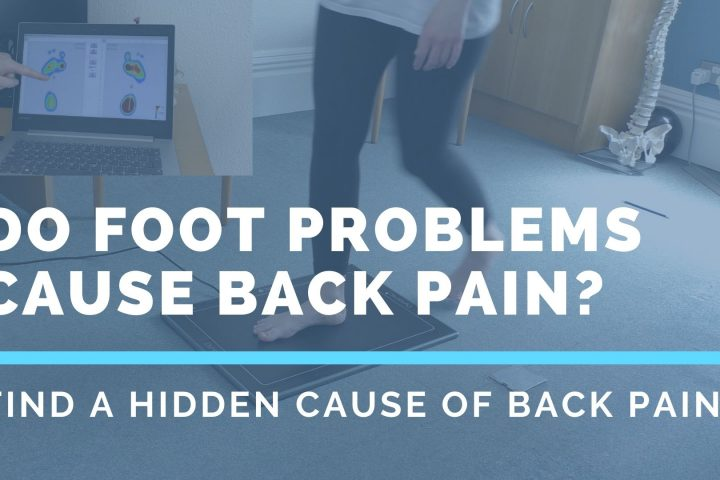 Do foot problems cause back pain?